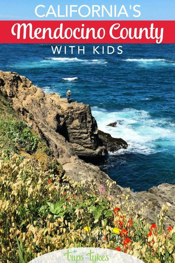 Visiting Mendocino County in Northern California with kids? All the best things to do plus family-friendly places to stay #mendocino #visitmendocino #california #visitcalifornia #kidifornia