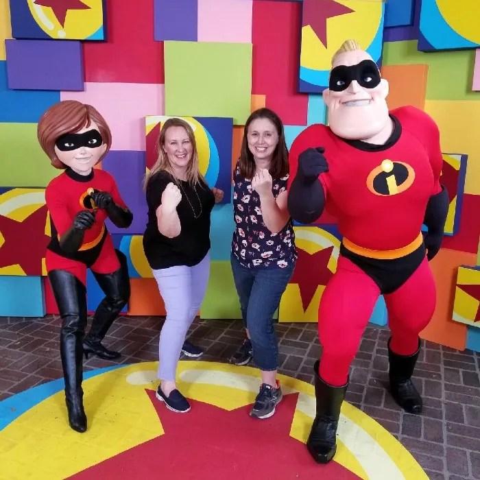 Pixar Fest at Disneyland - Incredibles in Paradise Gardens