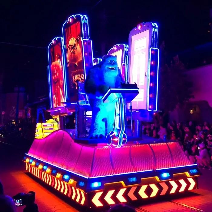 Pixar Fest at Disneyland - Paint the Night Sully