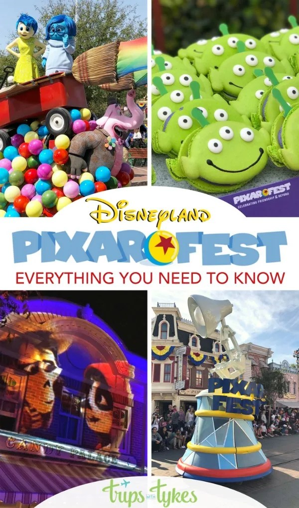Headed to Pixar Fest at Disneyland? The ultimate guide with insider tips from a Disneyland expert who attended opening weekend. Plus a look ahead to Pixar Pier! #PixarFest #Disneyland #Disney #DisneySMMC
