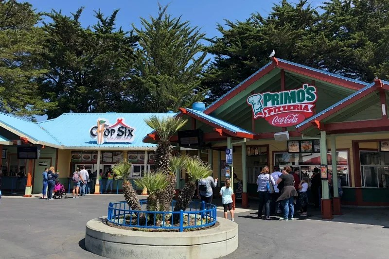 Six Flags Discovery Kingdom Tips - Food Court