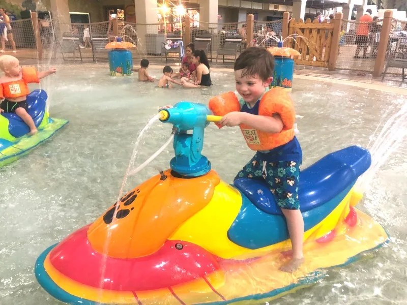 Cabarrus County NC with Kids - Great Wolf Lodge Concord Water Park
