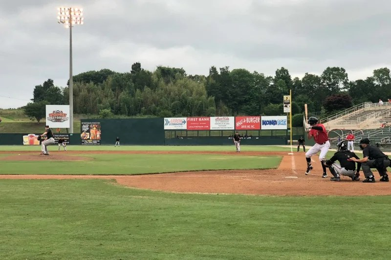 Cabarrus County NC with Kids - Kannapolis Intimidators Baseball