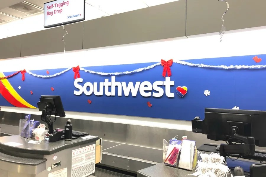 Southwest Credit Cards - Southwest Ticket Counter