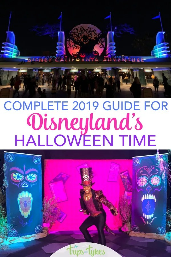 Visiting Disneyland during the Halloween season? A complete guide and tips for Halloween Time and Oogie Boogie Bash - the brand new 2019 Halloween party. #disneyland #halloweentime #oogieboogiebash
