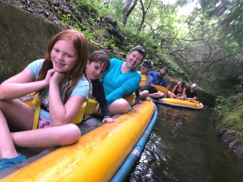 Taking Kids Out of School to Travel - Flumin Kohala in Big Island Hawaii