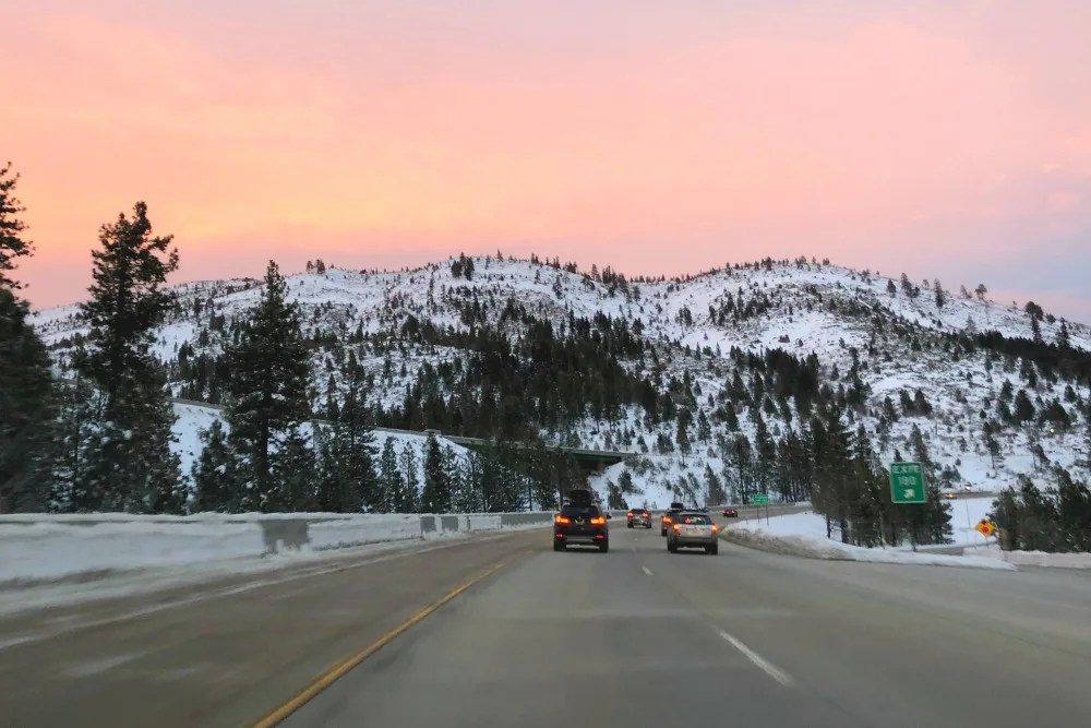 Tips for Driving to Lake Tahoe in Winter
