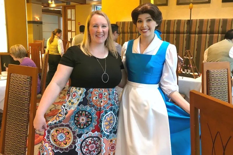 Disneyland Character Meal - Princess Breakfast Adventures - Belle