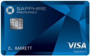 Chase Sapphire Preferred Card Art March 2019