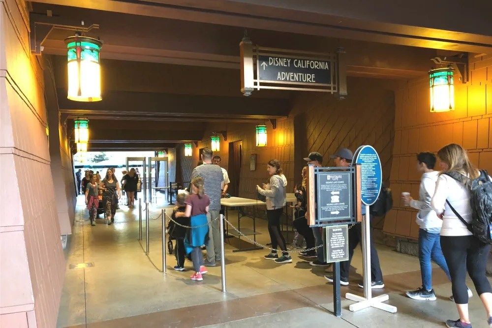 Disneys Grand Californian - Private Entrance into California Adventure
