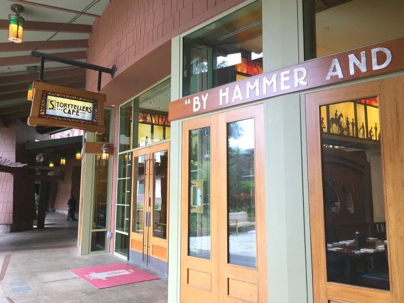 Grand Californian - Storytellers Cafe