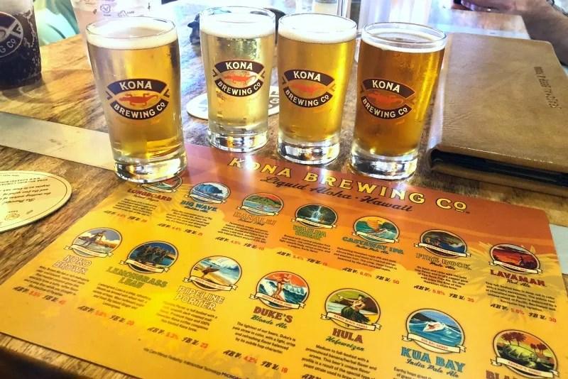 Hawaii Big Island with Kids - Kona Brewing Company