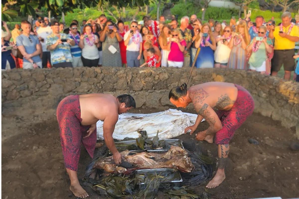 Hawaii Big Island with Kids - Waikoloa Marriott Luau