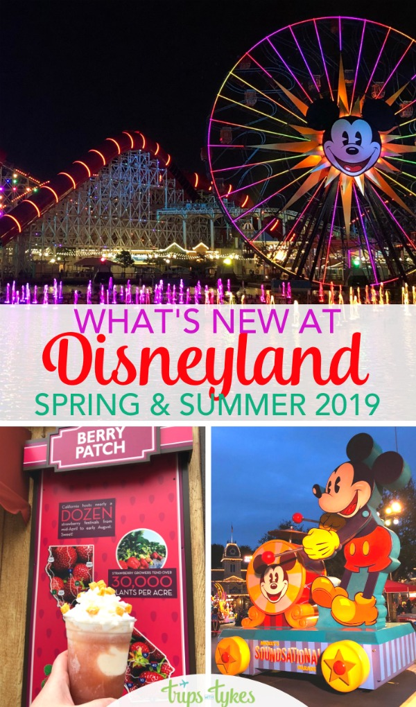 Visiting Disneyland in spring or summer 2019? Find out all that's new and coming soon, from Star Wars: Galaxy's Edge to the Get Your Ears On - a Mickey And Minnie Celebration. Tips for spring ticket deals to save you money too! #disneyland #starwarsgalaxysedge #disney