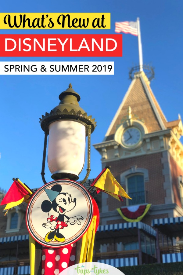 Visiting Disneyland in spring or summer 2019? A look at all the new attractions, restaurants, shows, and more. Get tips on all the many changes, including a look at Star Wars: Galaxy's Edge, additions to Pixar Pier, and Downtown Disney openings. #disneyland #starwarsgalaxysedge #downtowndisney