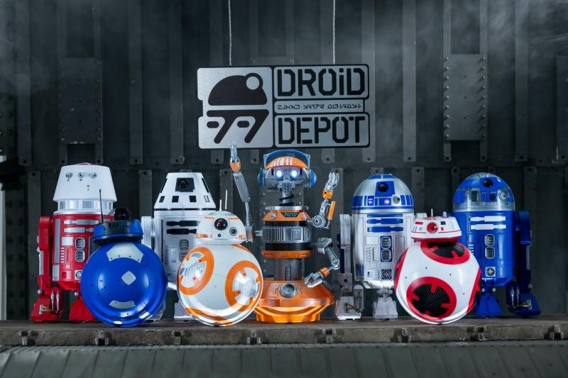 Star Wars Galaxy Edge Droid Depot