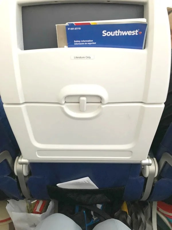 Southwest Hawaii Flight Review - Legroom in 737-800