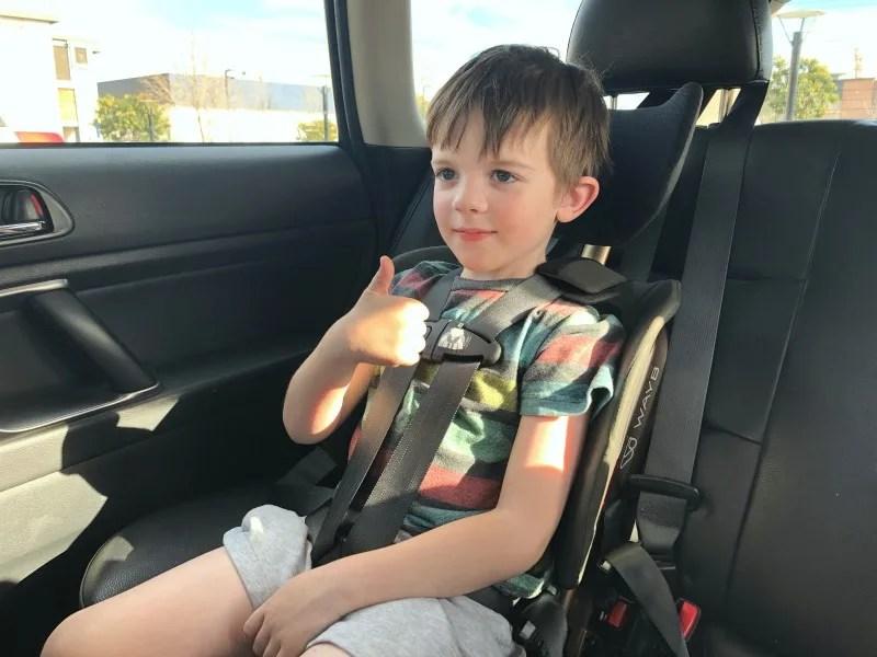 WAYB Pico - Car Seat 5 Year Old