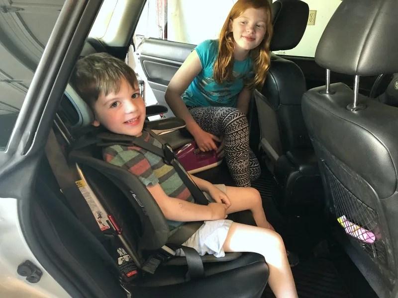 WAYB Pico Travel Car Seat - Child Using Car Seat