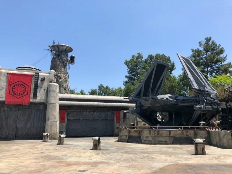 Star Wars Galaxys Edge Disneyland - First Order TIE Fighter