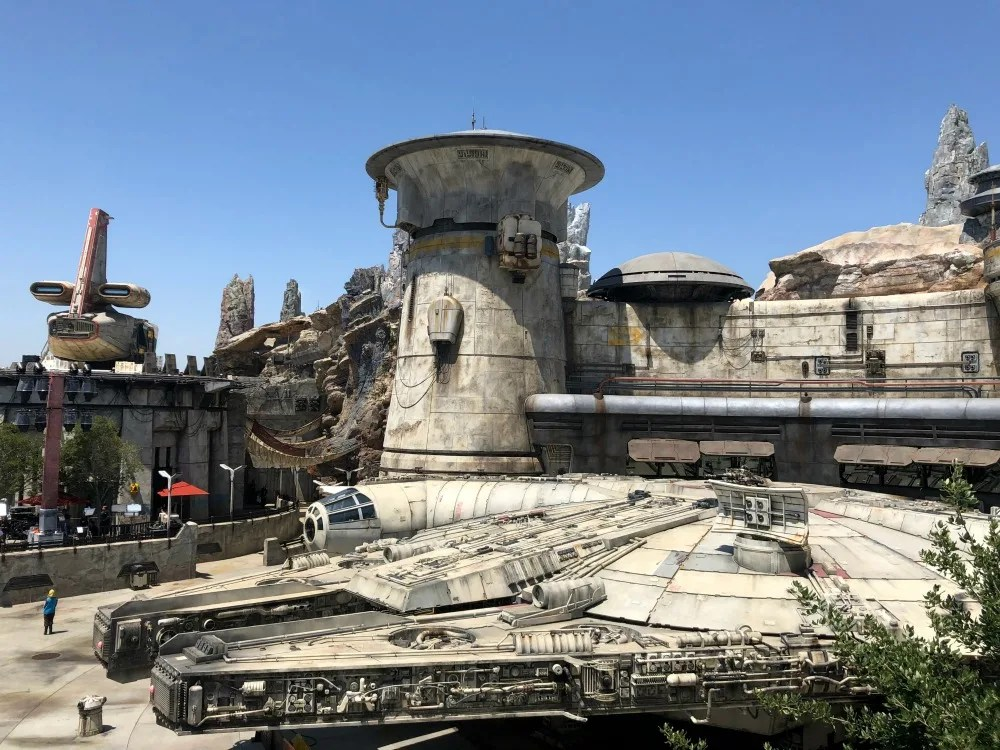 Star Wars Galaxys Edge - Millennium Falcon Overlook