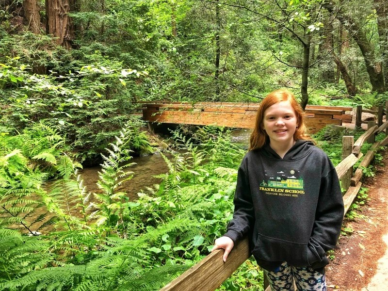 Every Kid in a Park - National Park with 4th Graders - Child in Muir Woods
