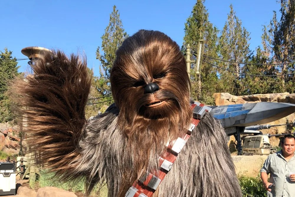 Star Wars Galaxy's Edge Chewbacca