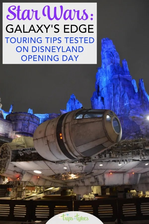 Star Wars: Galaxy's Edge Tips & Touring Strategies at