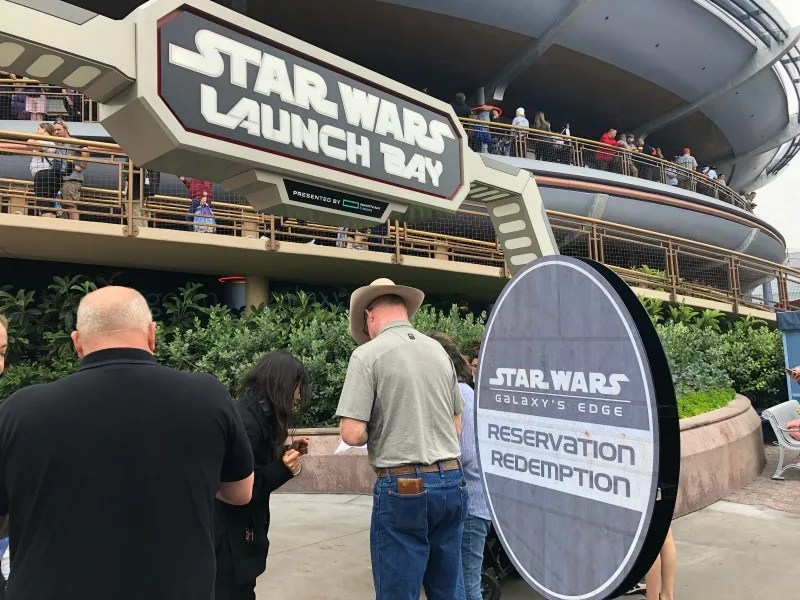Star Wars Galaxys Edge Review Right and Wrong - Launch Bay Reservations