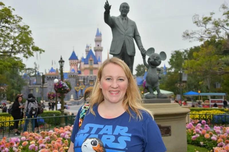 Star Wars Land Disneyland Castle