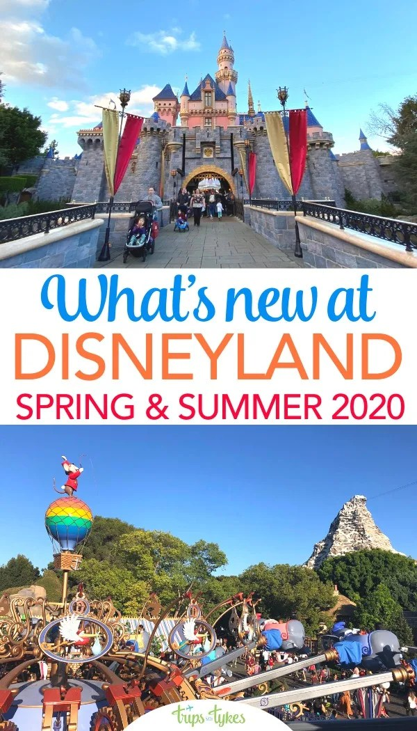 Planning a spring or summer 2020 Disneyland vacation? Explore and get tips for all the new attractions and openings - including the Magic Happens parade and Avengers Campus in California Adventure. Plus new hotel openings to watch! #disneyland #disney