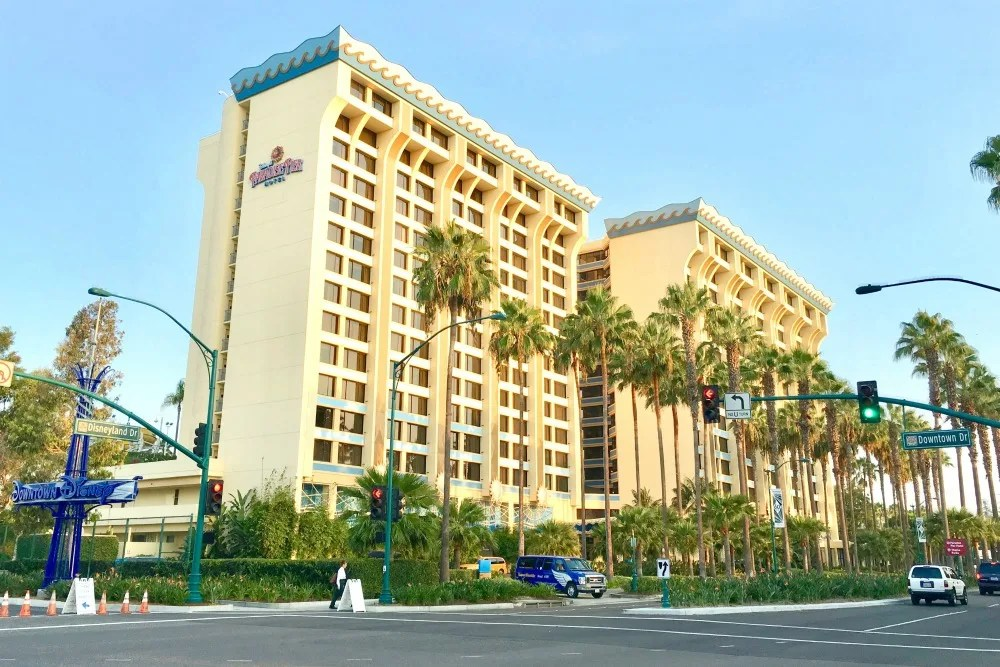 Paradise Pier Hotel Exterior at Disneyland
