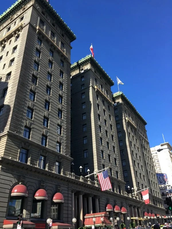 24 Hours in San Francisco - Westin St Francis Hotel