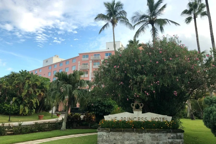 First TimersFairmont Hamilton Princess Hotel in Bermuda