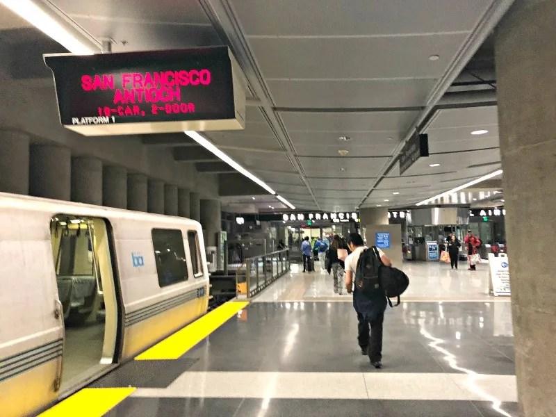 San Francisco - BART at SFO Airport