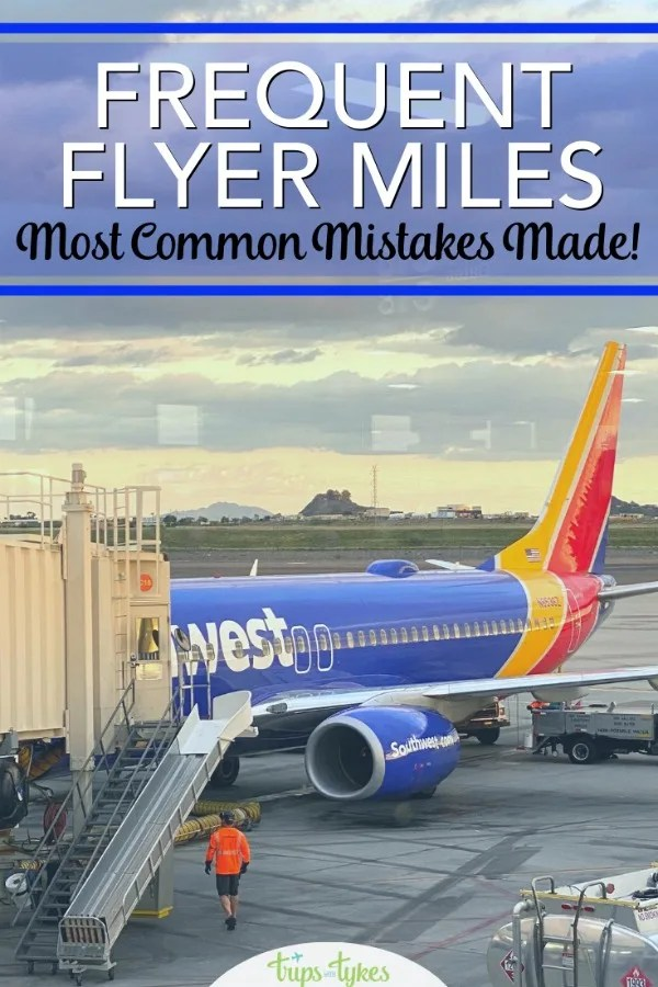 Are you making these mistakes with your airline miles? Tips and tricks for maximizing frequent flyer programs so you can save more money and travel more! #airtravel #budgettravel