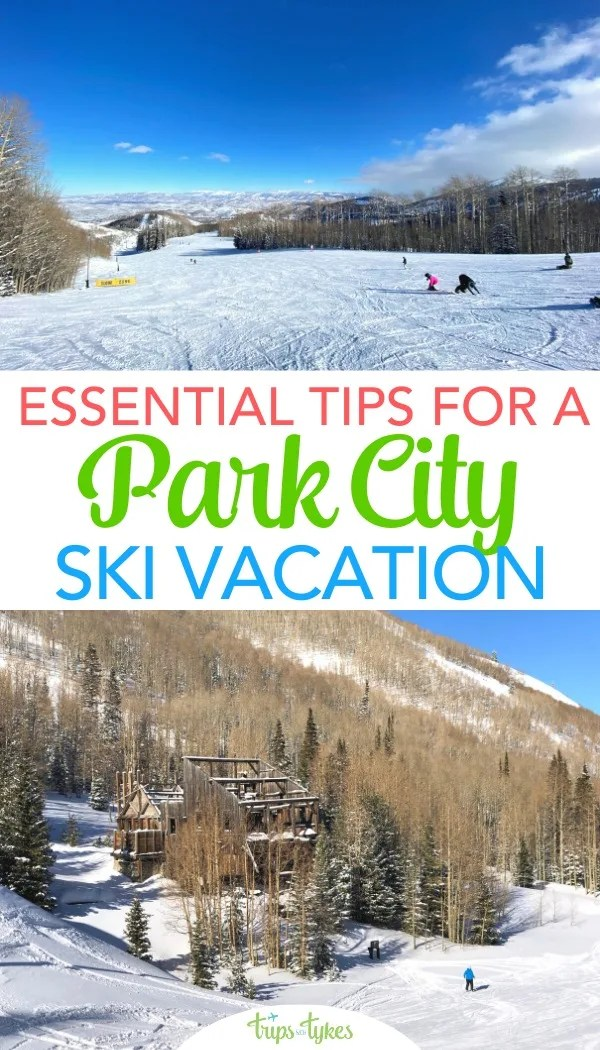 Essential tips for skiing and riding Park City Mountain Resort (now including the Canyons) in Utah. Find out what to do, where to stay, and get all the details to make your ski trip hassle free. #visitparkcity #skiutah #skitrip