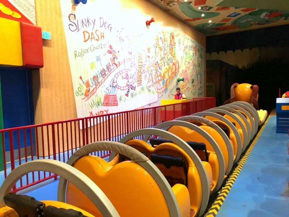 Slinky Dog Dash Boarding