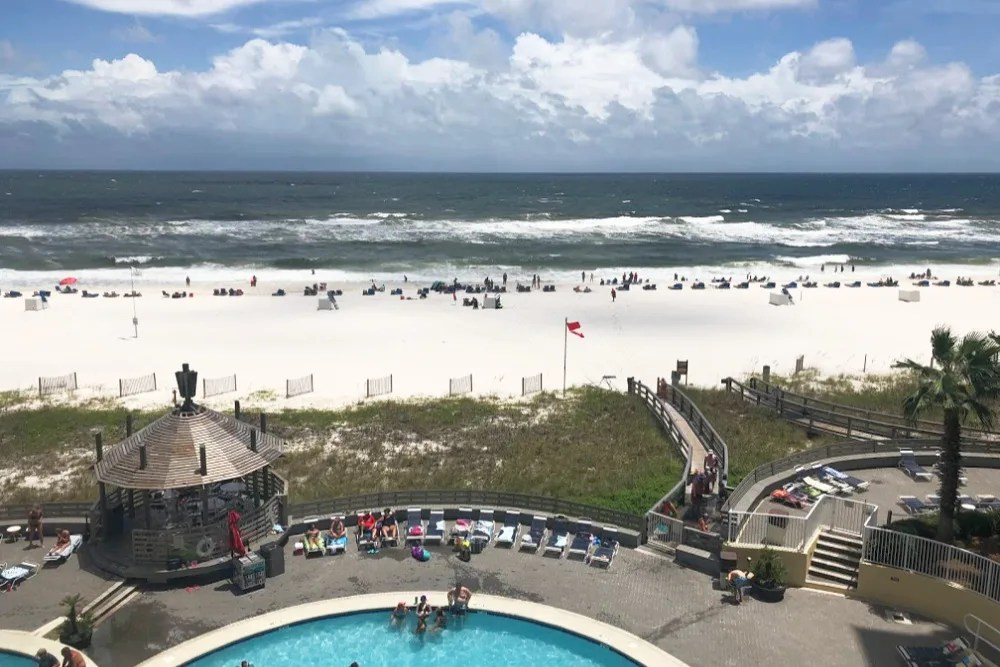 Orange Beach Alabama View Condo Pool