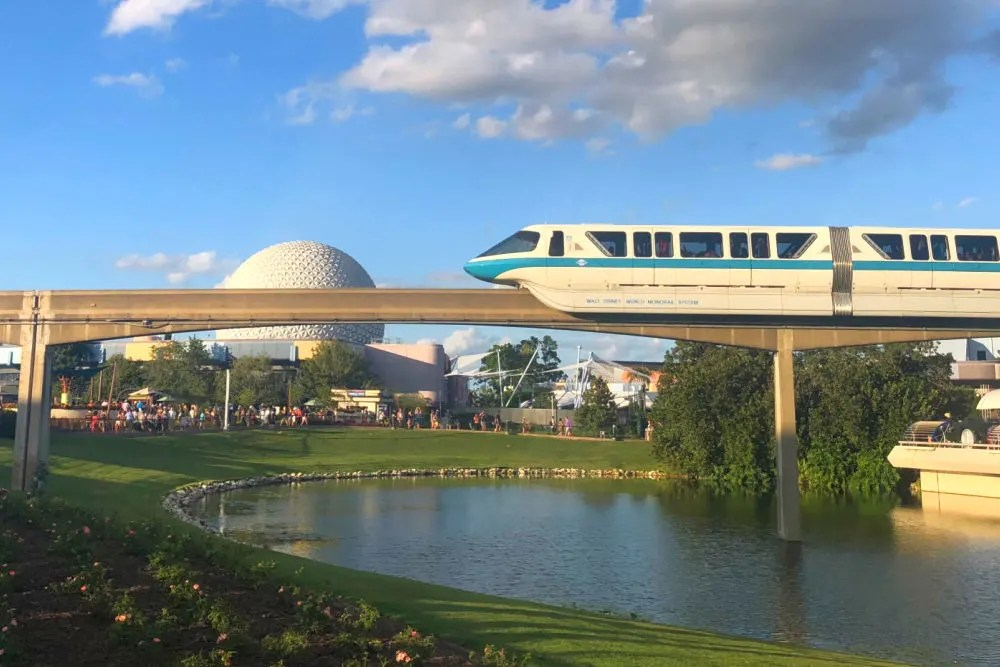 Disney World Transportation - Monorail