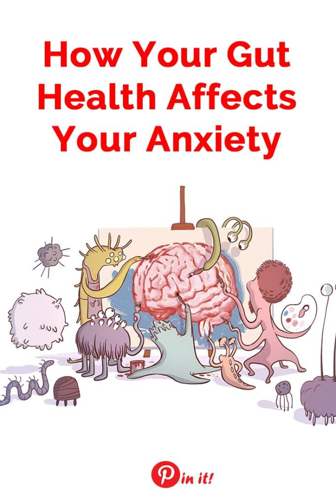 Want to improve your mental health and manage anxiety? Improve your gut first! Here's how your gut health affects your anxiety and the facts may surprise you!   Anxiety relief