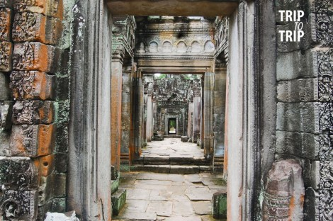 Hide and Seek in Preah Khan