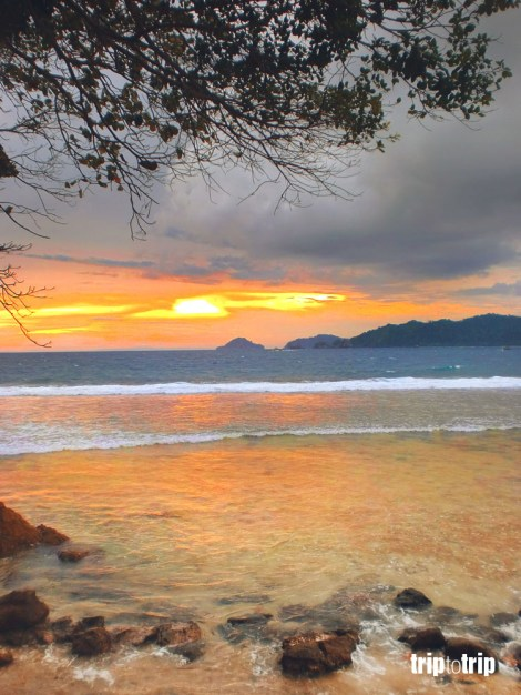 sunset in Kiluan