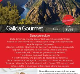 Turismo gastronómico en Galicia Santiago Agosto 2016
