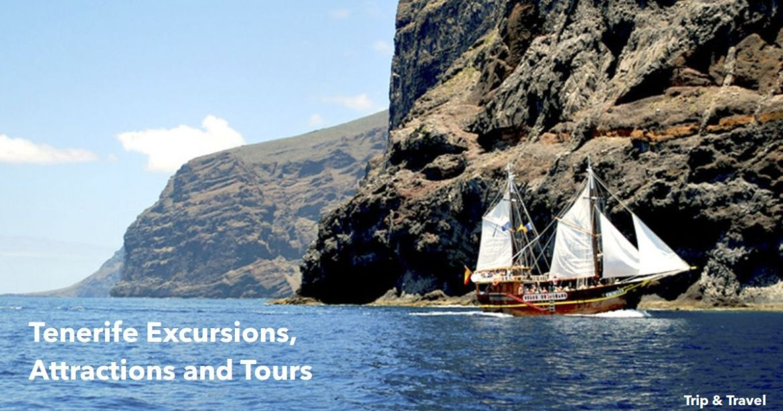 Tenerife Excursions, Attractions and Tours, events, tickets, reservations, restaurants, trips, cheap, Playa de las Américas, Puerto Colón, Puerto de la Cruz, hotels