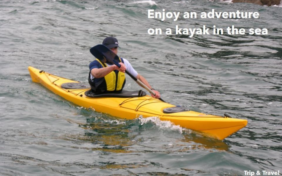 Tenerife Excursions Kayak, tickets, reservations, hotels, restaurants, Canary Islands, Spain, sea, snorkeling, fishing, scuba diving, whales watching, jetski, zealot boats