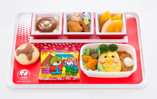 japan airlines children menu