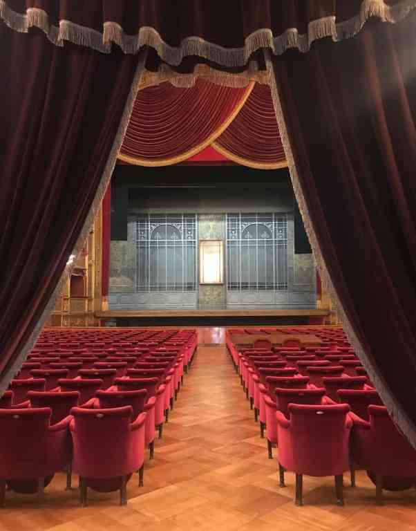 Massimo Theater in Palermo Sicily Italy