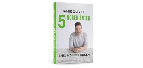 Het boek: 5 ingrediënten – Jamie Oliver