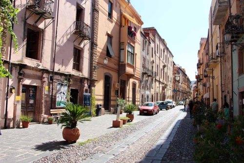 Corso Vittorio Emanuele winkelstraat Rome